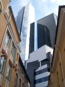 Hochhäuser Tallinn